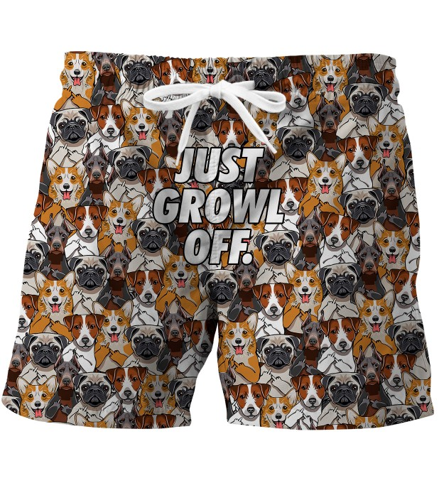 Just growl off swim trunks Miniature 1