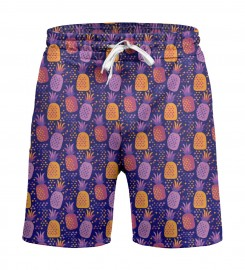 Mr. Gugu & Miss Go, Colorful Pineapples Shorts Miniature $i