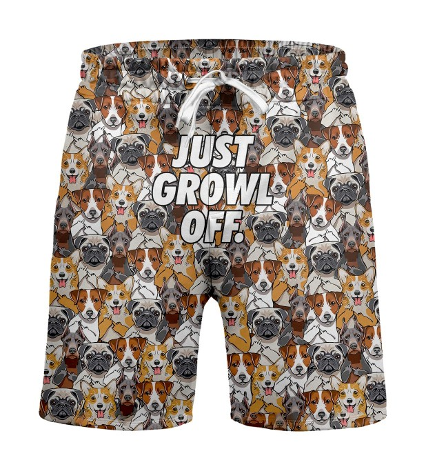 Just growl off Shorts Miniature 1
