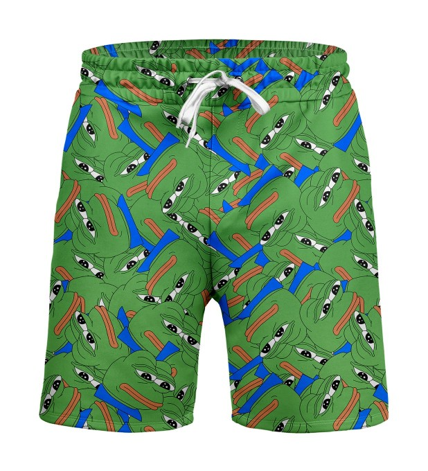 Pepe the frog pattern Shorts Miniature 1