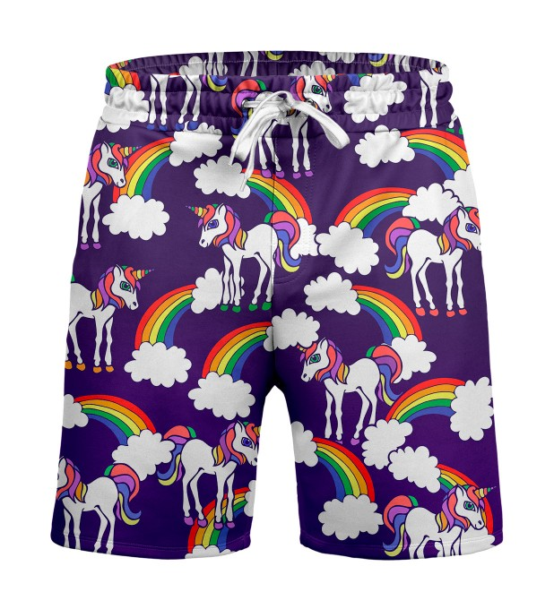 Rainbow Unicorns Shorts Miniature 1