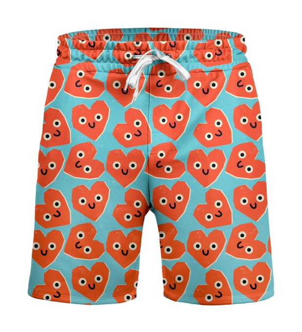 Cute hearts Shorts Miniaturbild 1