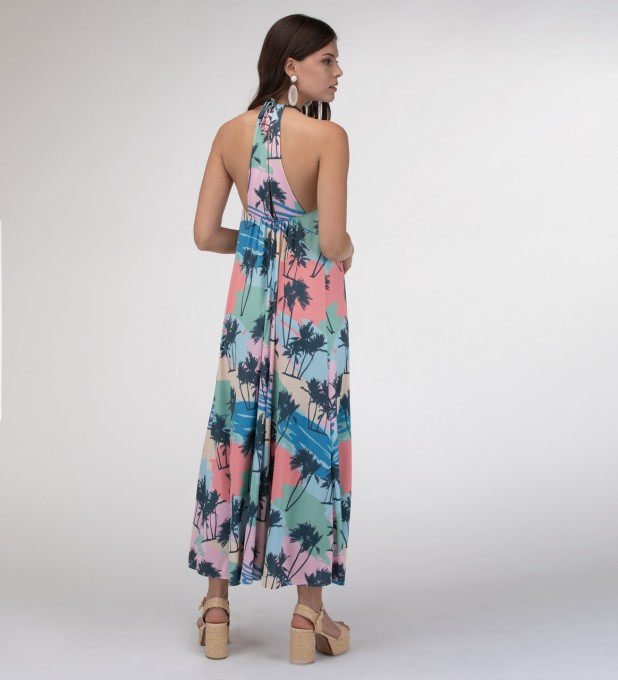 Pacific Lights Halter dress Miniatura 2