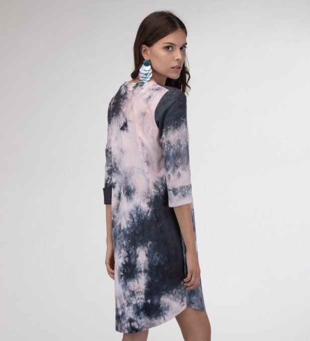 Storm Tie dye Shirt dress аватар 2