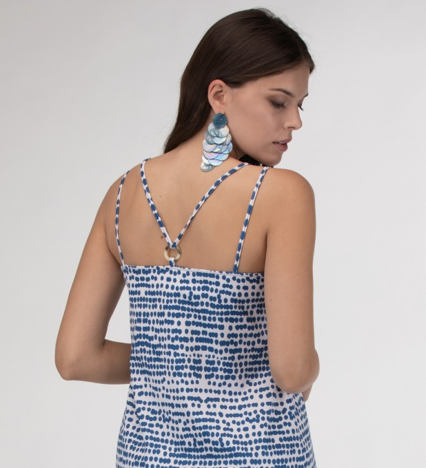 Ocean drops Strap dress long Miniatura 2