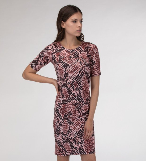 Skin in scales Slim dress Miniatura 1