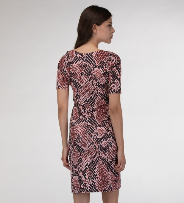 Skin in scales Slim dress Miniatura 2