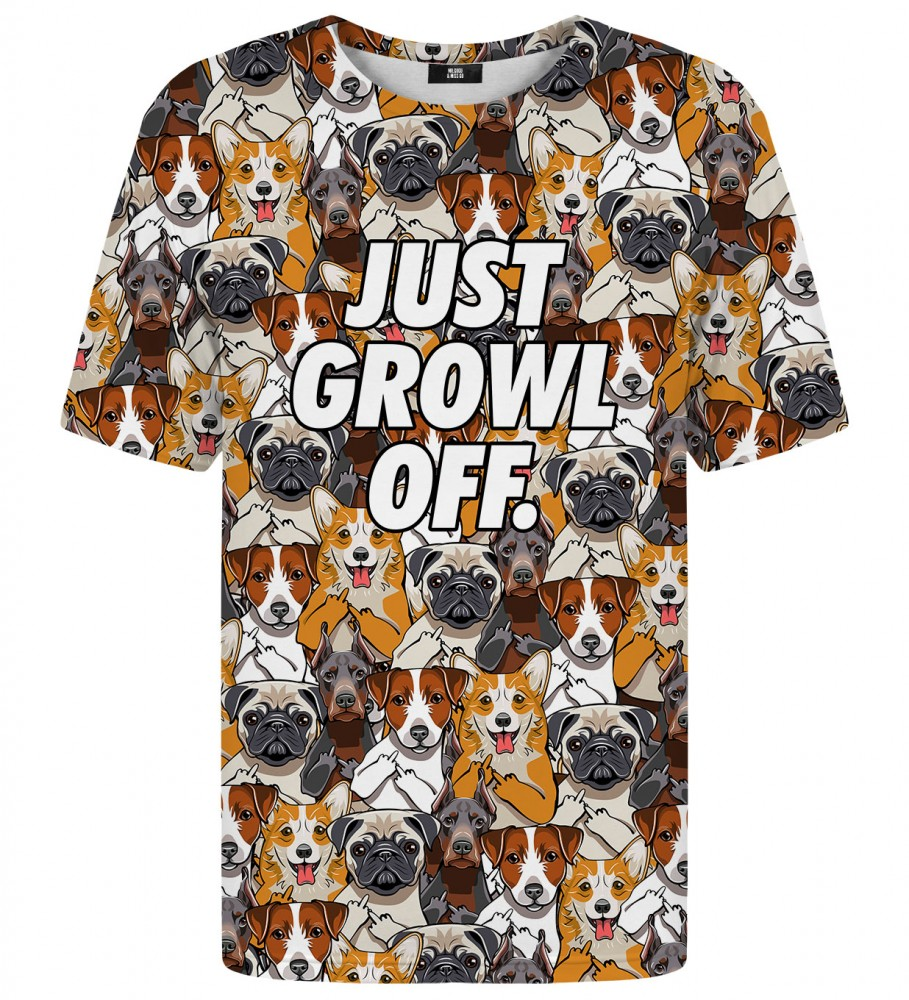 Mr. Gugu & Miss Go, Just growl off t-shirt Image $i