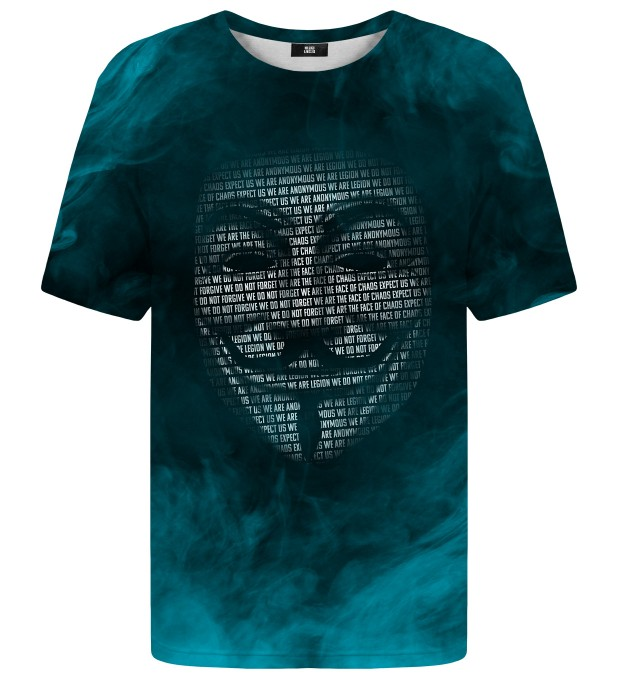Anonymous mask t-shirt Miniatura 1