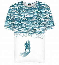 Mr. Gugu & Miss Go, Ocean Surfer t-shirt Thumbnail $i
