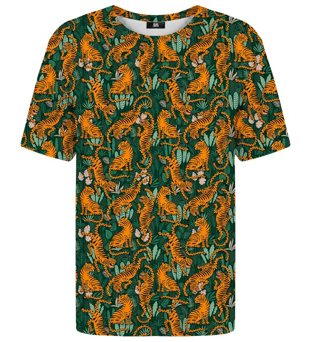 Jungle Tiger t-shirt Miniatura 1