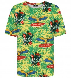 Mr. Gugu & Miss Go, Aloha from Parrot t-shirt Thumbnail $i