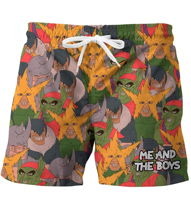 Me and the boys swim trunks Miniature 1