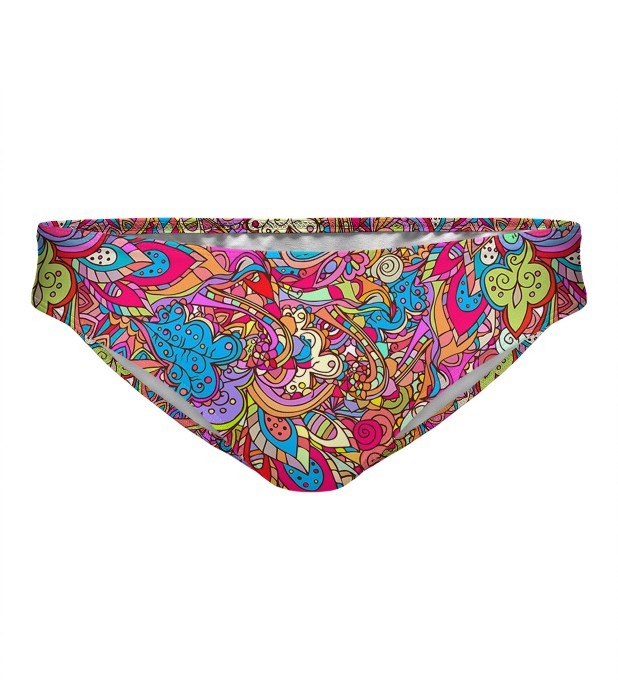 Indian pattern regular bikini bottom Miniature 1