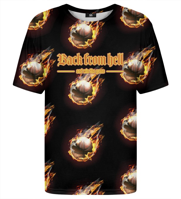 T-shirt ze wzorem Back from hell Miniatury 1