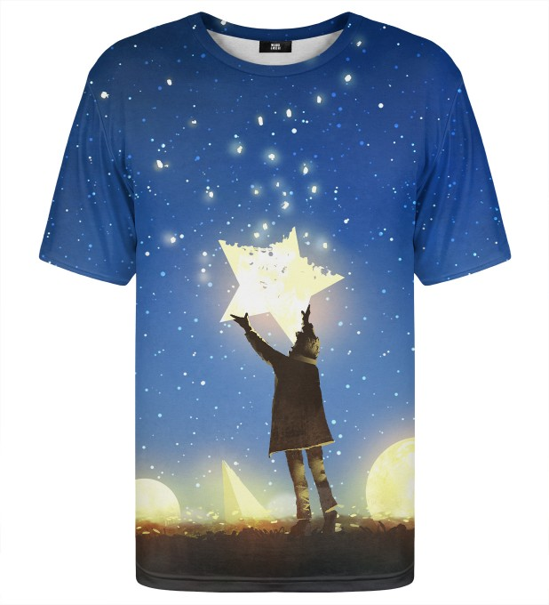 Star from sky t-shirt Miniaturbild 1
