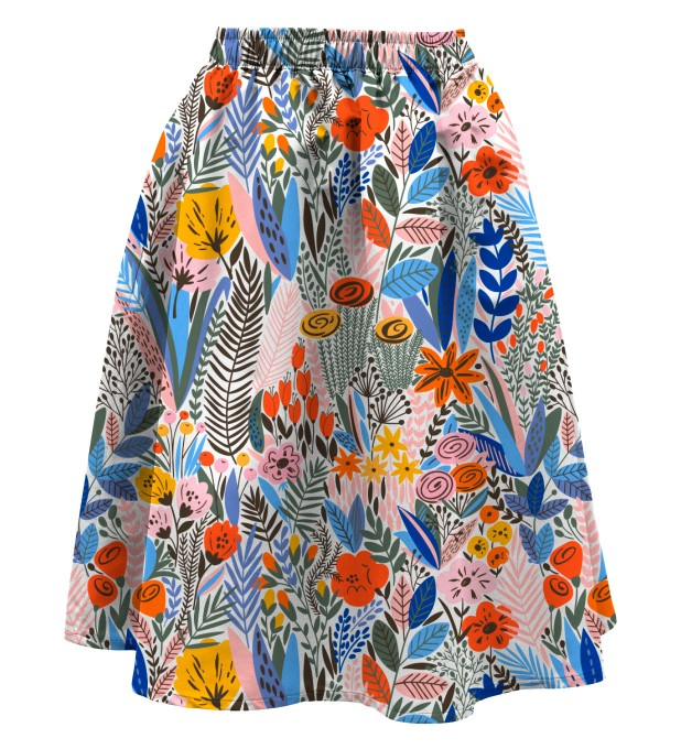 Floral pattern Summer flared skirt аватар 1