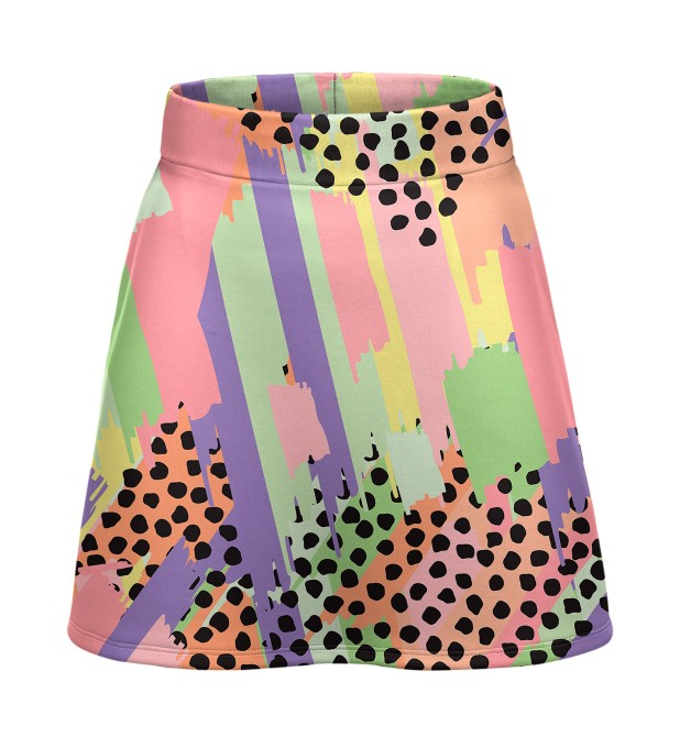Pastel dots short skirt Miniature 1