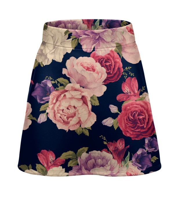 Vase of peonies short skirt Miniature 1