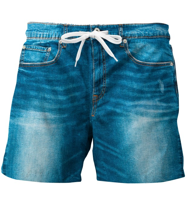 Denim swim trunks Miniature 1