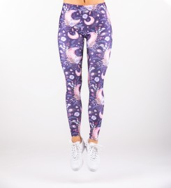 Mr. Gugu & Miss Go, Moon Pattern Leggings Miniatura $i