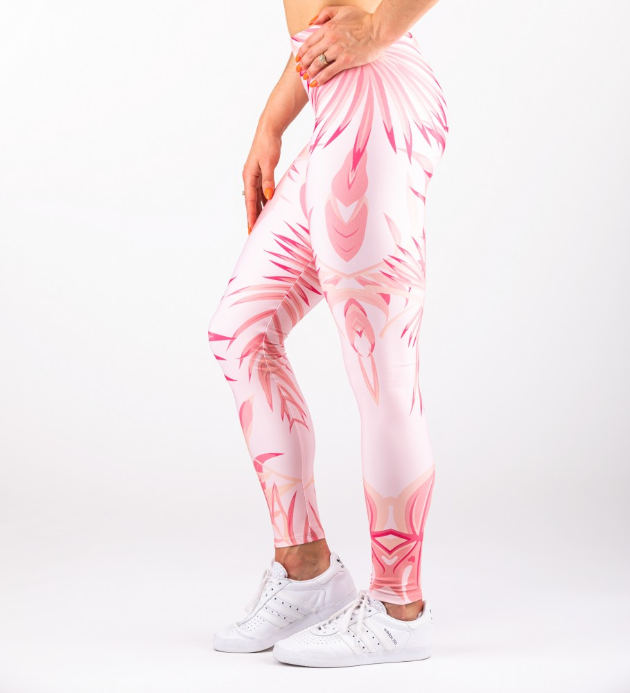 Mr. Gugu & Miss Go, Tropical Pink Leggings Image $i