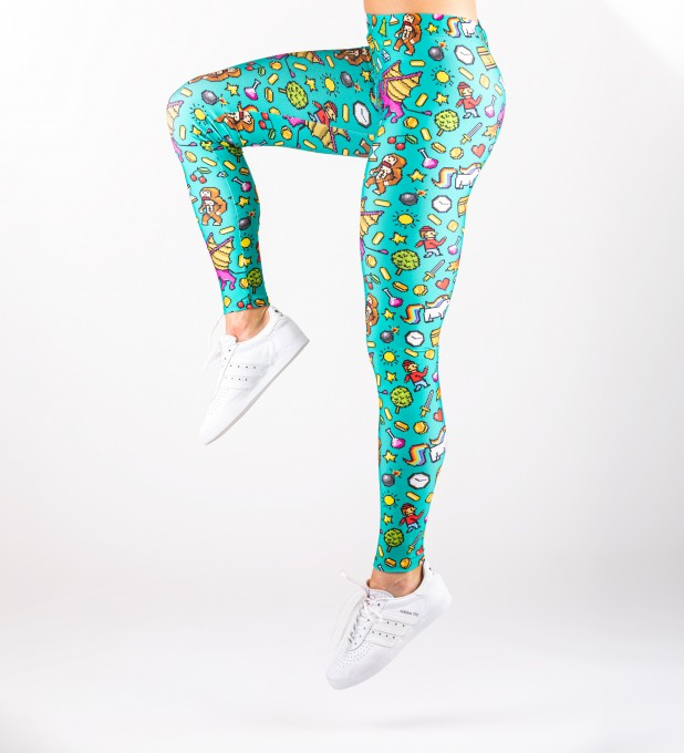 Pixel Game Leggings Thumbnail 2