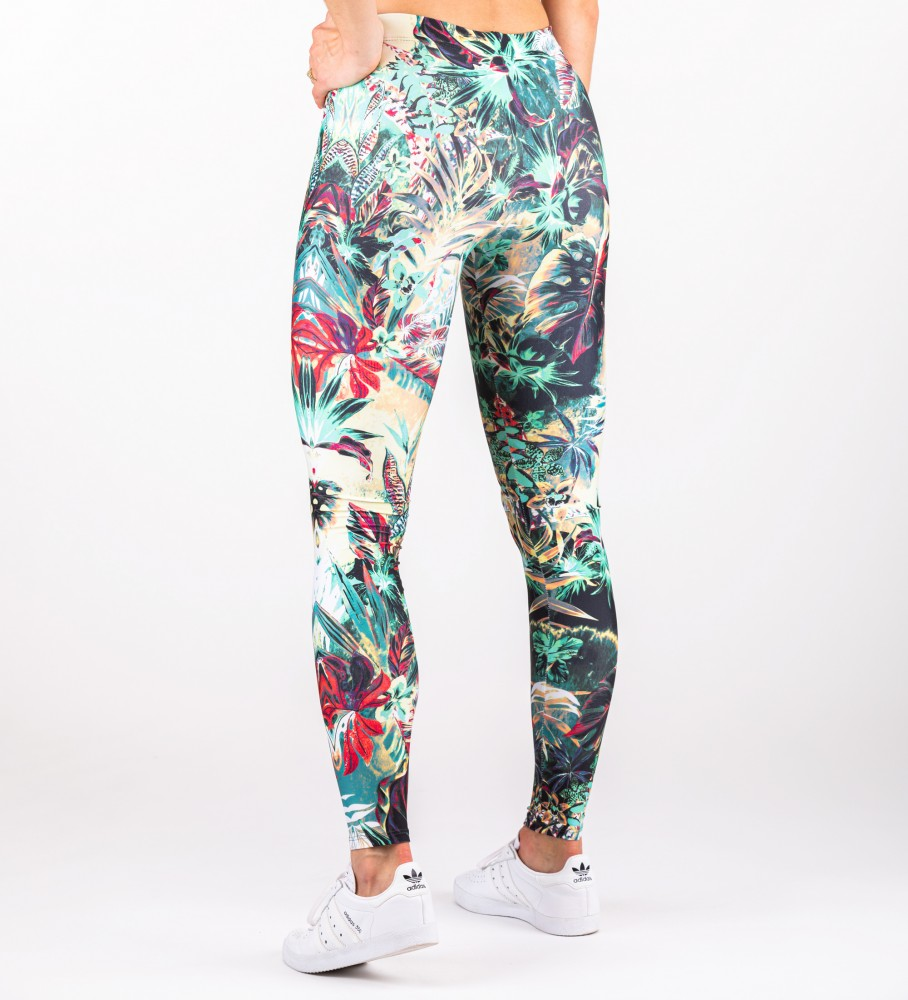 Mr. Gugu & Miss Go, Tropical Jungle leggings Image $i