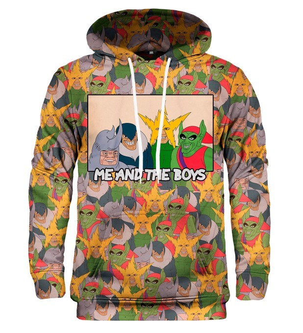 Me and the boys hoodie Miniature 1