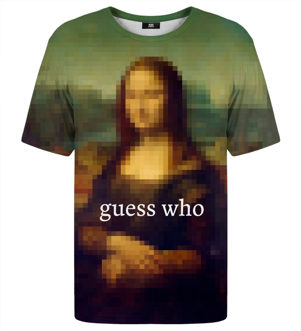 Guess who t-shirt Thumbnail 1