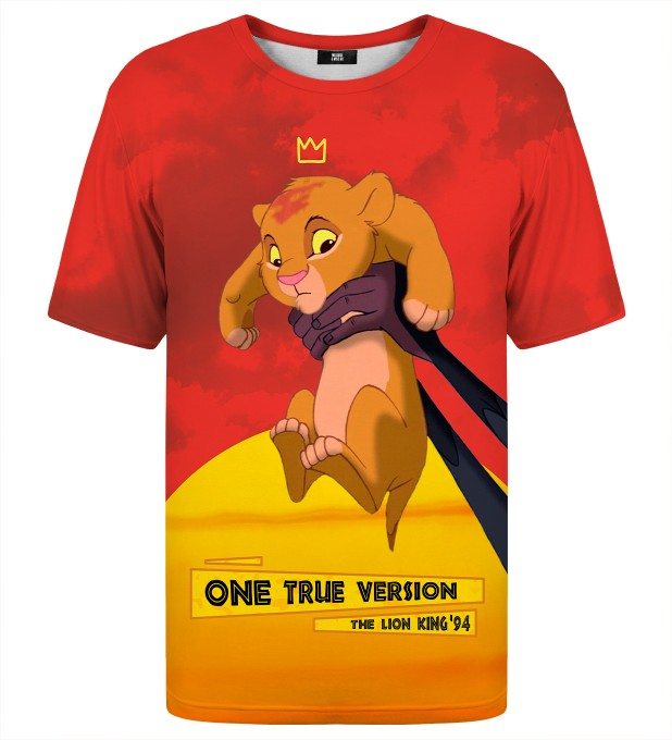 One true version t-shirt Thumbnail 1
