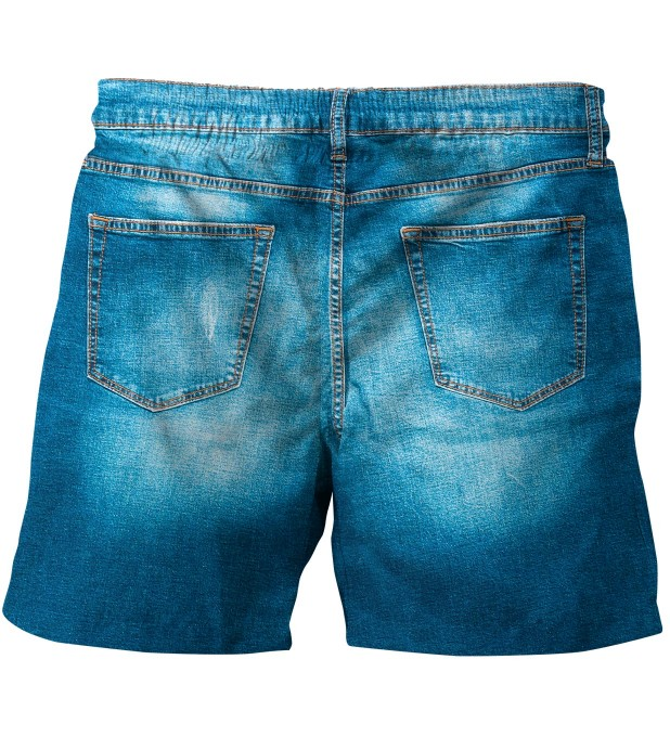 Denim swim trunks Miniature 2