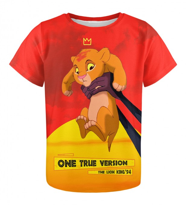 One true version t-shirt für Kinder Miniaturbild 1