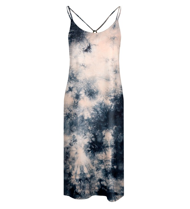 Storm Tie dye Strap dress long Miniatura 1