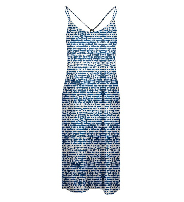 Ocean drops Strap dress long Miniature 1