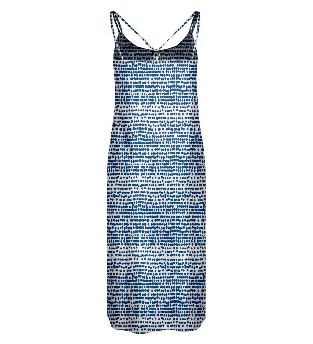Ocean drops Strap dress long Miniature 2