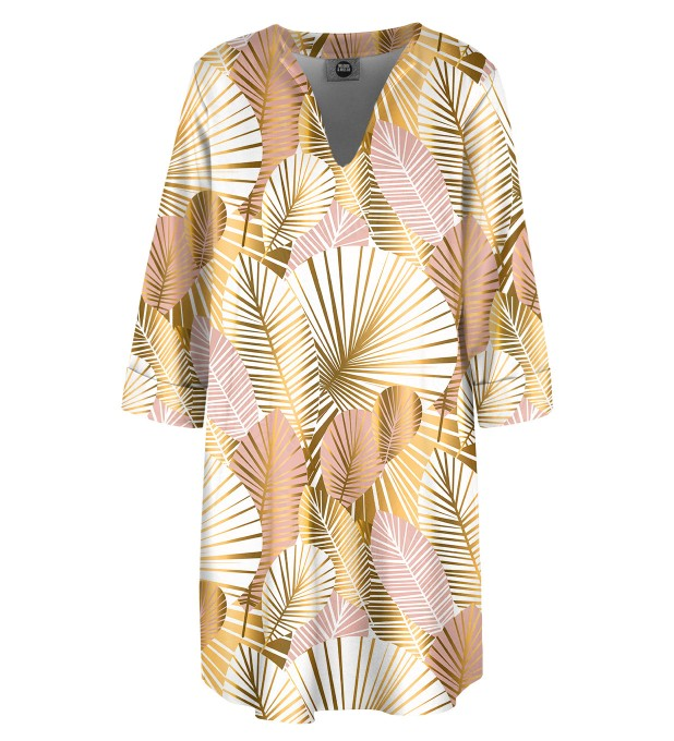 Golden Laurels Shirt dress Miniatura 2