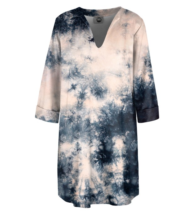 Storm Tie dye Shirt dress Miniature 1