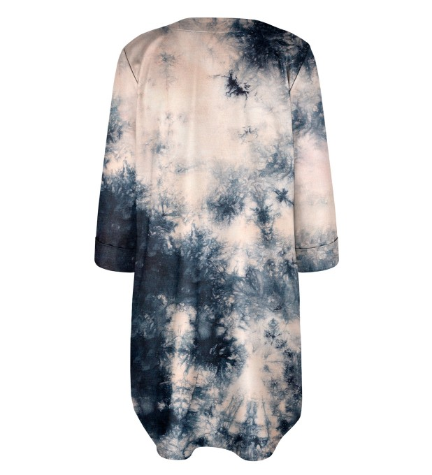 Storm Tie dye Shirt dress Miniatura 2