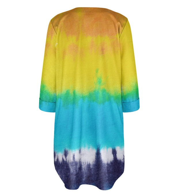 Splashy Tie Dye Shirt dress Miniature 2