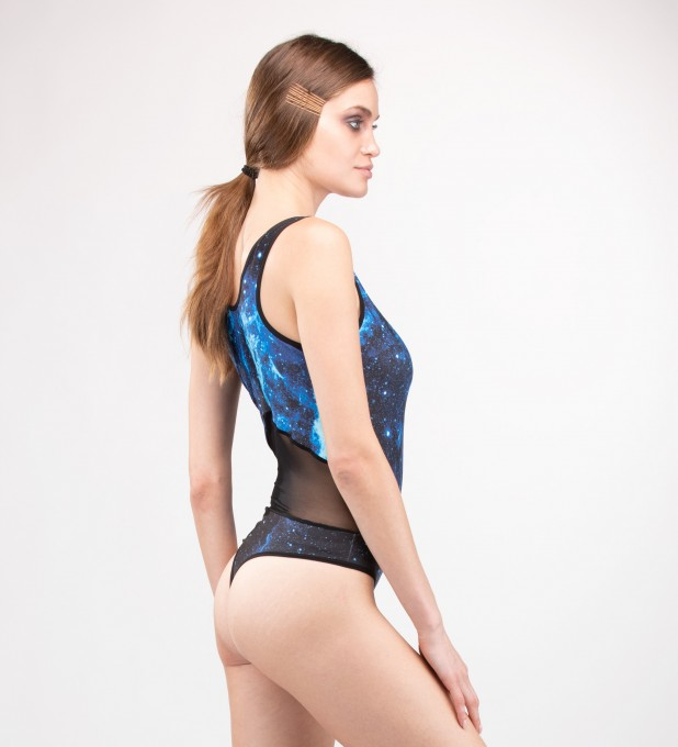 Cygnus Loop Tulle Mix Bodysuit Miniature 2