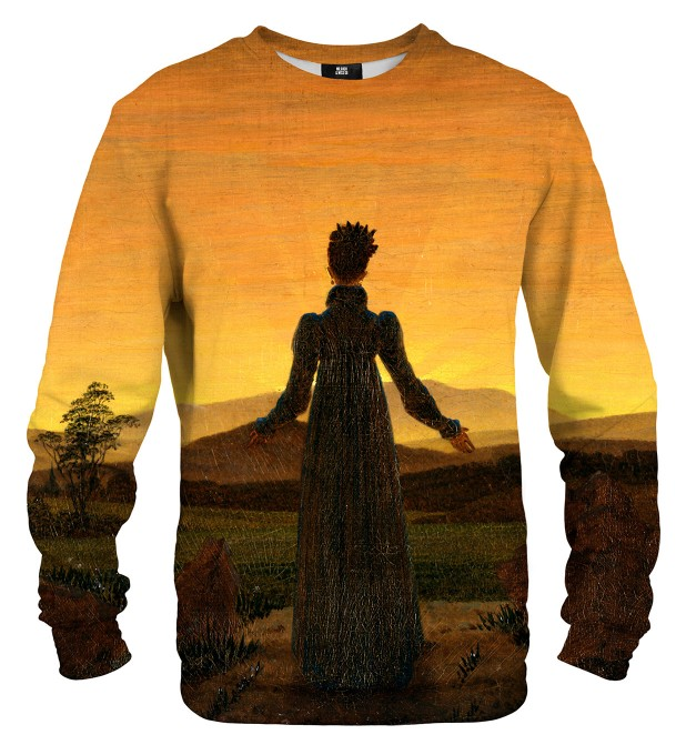 Woman before the Rising Sun sweatshirt Miniaturbild 1