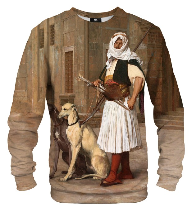 Arnaut with two dogs sweater Miniature 1