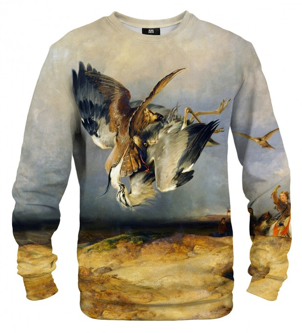 Hawking in the Olden Time sweatshirt Miniaturbild 1