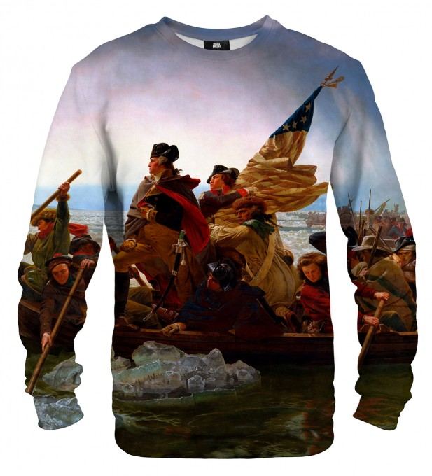 Washington Crossing the Delaware sweatshirt Miniaturbild 1