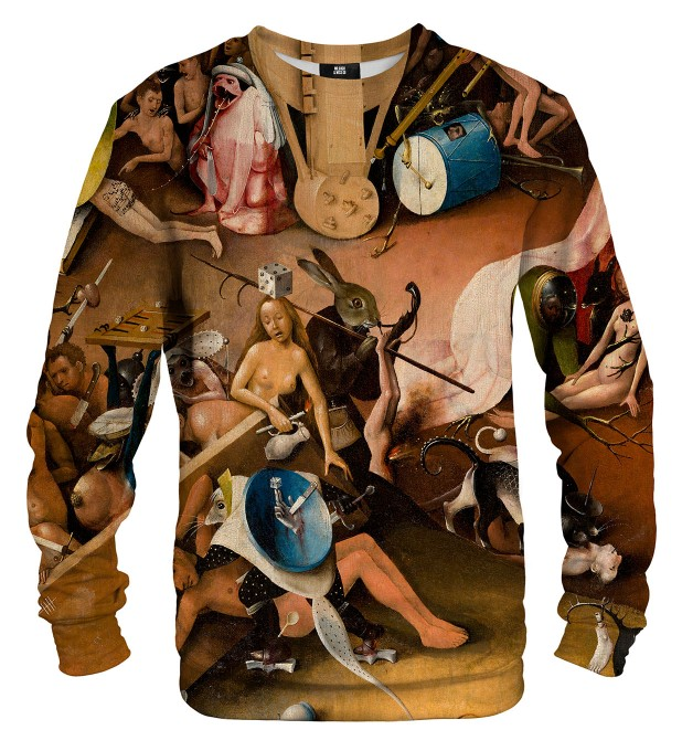 Hell The Garden Of Earthly Delights sweatshirt Miniaturbild 1