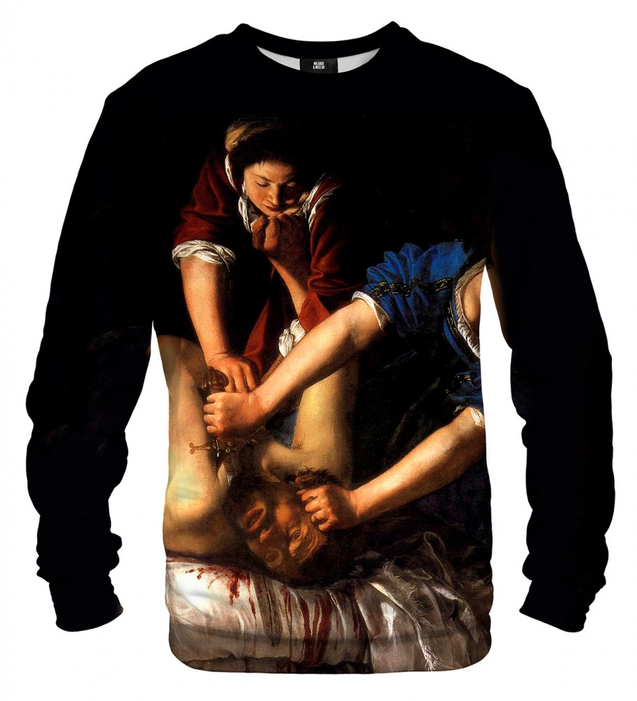 Mr. Gugu & Miss Go, Judith Slaying Holofernes sweater Imagen $i