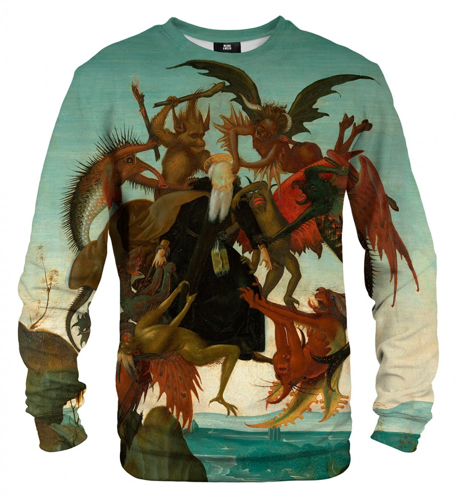 Mr. Gugu & Miss Go, The Torment of Saint Anthony sweater Imagen $i