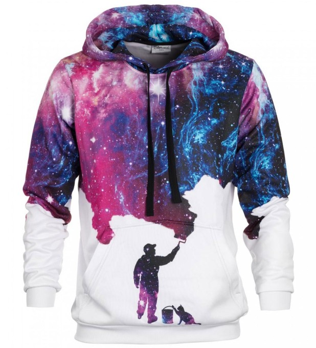 Galaxy Picture hoodie Miniatura 2
