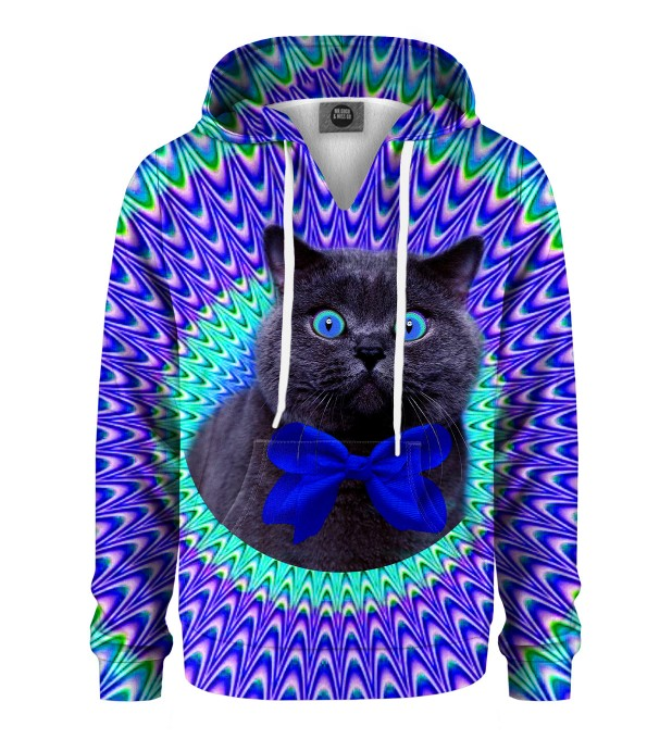 Crazy Cat Kids Hoodie Thumbnail 1